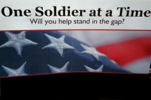 One Soldier at a Time Logo (links to their page, opens in a new tab)